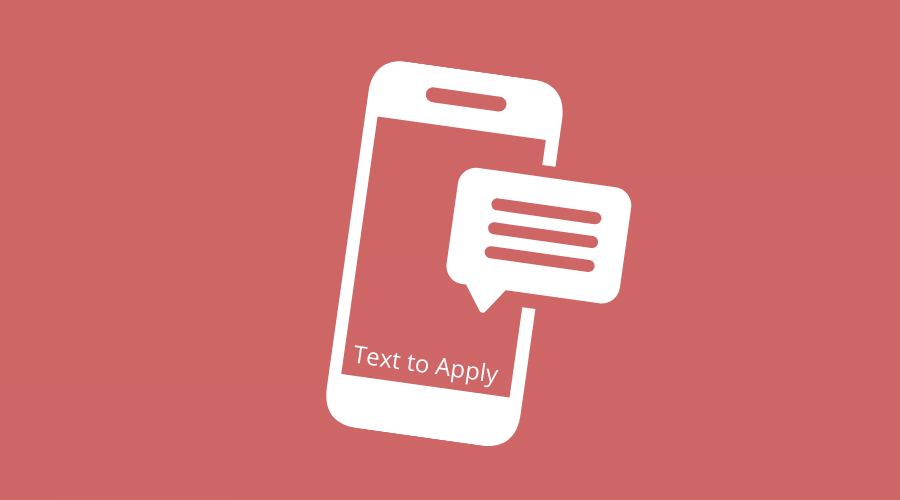 text to apply
